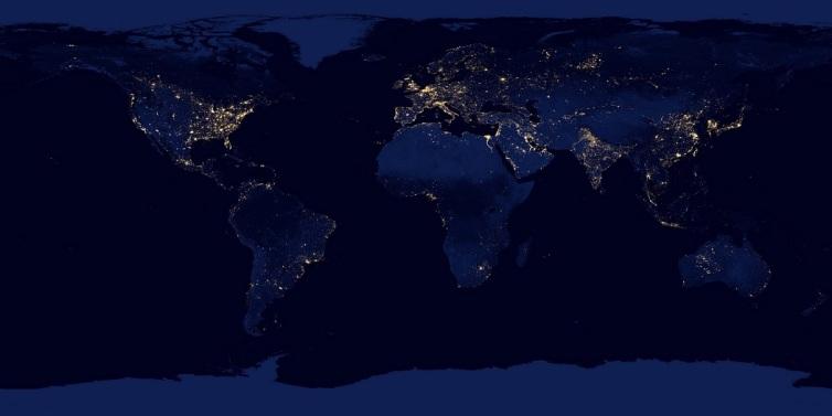 World light map